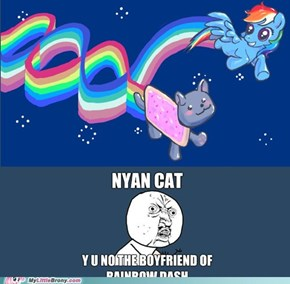 Nyan Cat + Rainbow Dash
