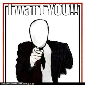 I want YOU!!