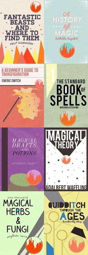Hogwarts Textbooks