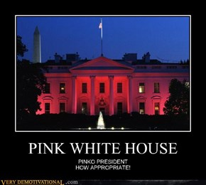 PINK WHITE HOUSE