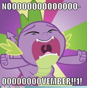 NOOOOVEMBER!!1!