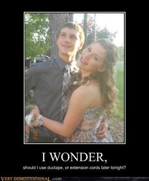 I WONDER,