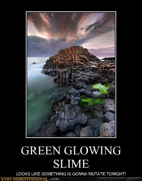 GREEN GLOWING SLIME