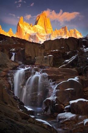 The Falls in Argentine Patagonia