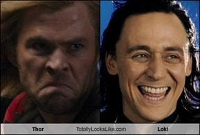 Thor Totally Looks Like Loki