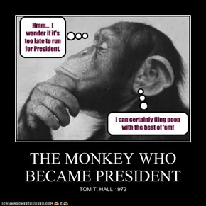 THE MONKEY WHO BECAME PRESIDENT