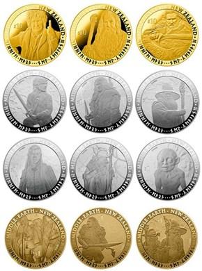 New Zealand has Hobbit Coins