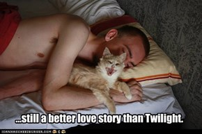 ...still a better love story than Twilight.