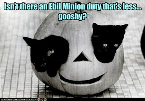 Isn't there an Ebil Minion duty that's less...  gooshy?