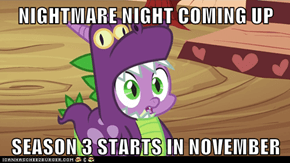 NIGHTMARE NIGHT COMING UP  SEASON 3 STARTS IN NOVEMBER