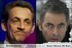 Nicholas Sarkozy Totally Looks Like Rowan Atkinson (Mr Bean)