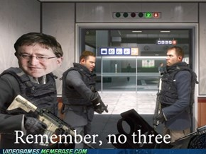 If Gaben Was A Character On MW2