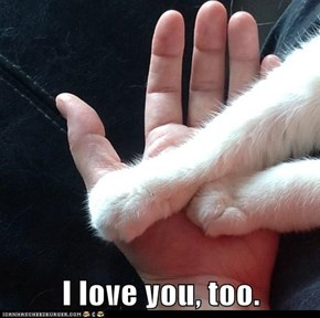 I love you, too.