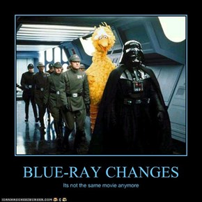 BLUE-RAY CHANGES