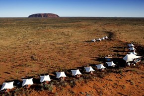 A Different Kind of Camping at Ayers Rock, Australia
