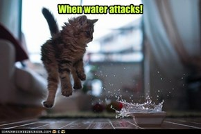 When water attacks!