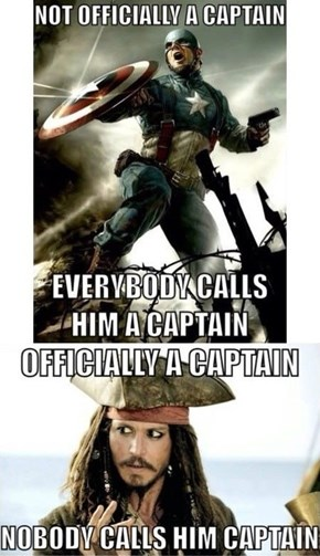 Poor Captain Jack Sparrow...