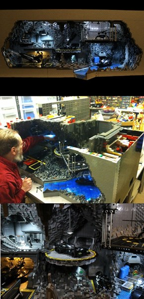 Nothing Will Ever Be As Cool As This LEGO Batcave of the Day
