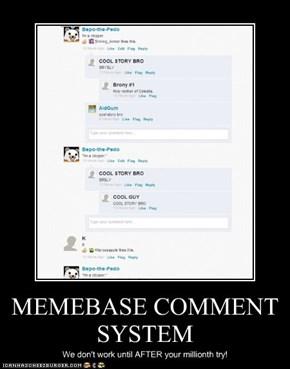 MEMEBASE COMMENT SYSTEM