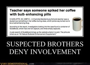 SUSPECTED BROTHERS DENY INVOLVEMENT