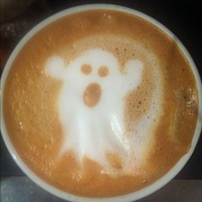 Spooky Latte WIN