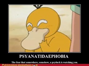 Phobia of the pokemone world
