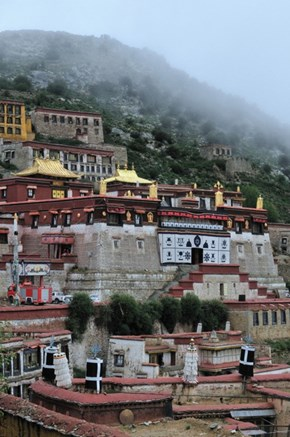 The Ganden Monastery of Tibet
