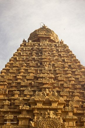 The Tanjore Temple, Gopuram