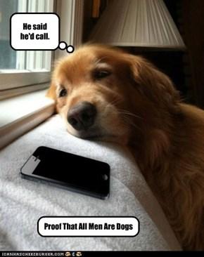 He said he'd call.