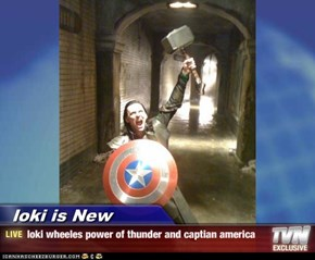 loki is New - loki wheeles power of thunder and captian america