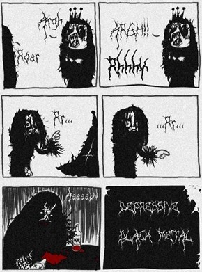 Black Metal Humor