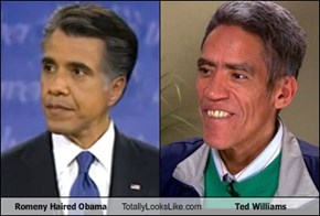 Romeny Haired Obama Totally Looks Like Ted Williams