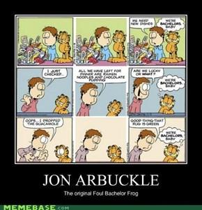 Jon Arbuckle is...