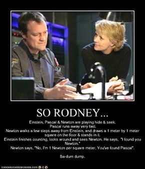 SO RODNEY...