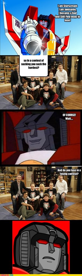 Epic Starscream Pwn