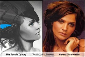 This female Cyborg Totally Looks Like Helena Christensen