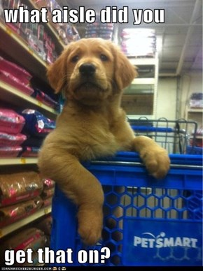 what aisle did you   get that on?
