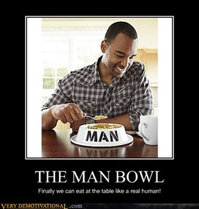 THE MAN BOWL