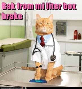 Bak from mi liter box brake