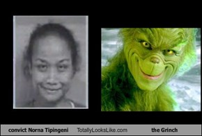 convict Norna Tipingeni Totally Looks Like the Grinch