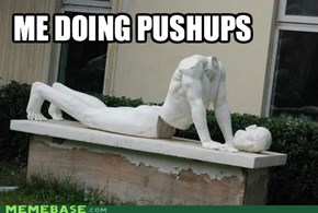 Me Doing Pushups