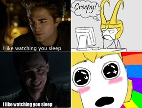 It's Only Creepy When Edward Does It