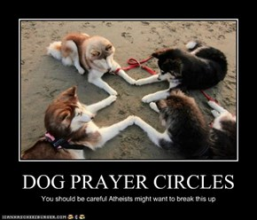 DOG PRAYER CIRCLES