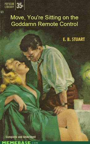 Old Smutty Romance Novel Titles Reimagined in Modern Times