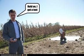 Texting strikes agian