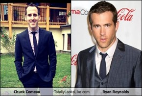 Chuck Comeau Totally Looks Like Ryan Reynolds