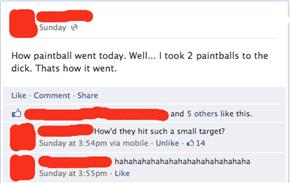 Argh, My Paintballs!