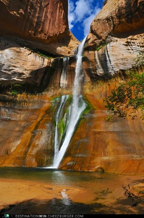 Calf Creek Falls, Utah