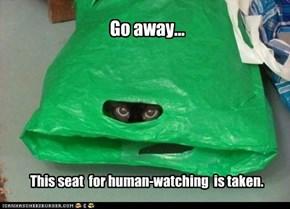 Go away...