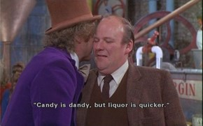 So Willy Wonka Was a Closet Alcoholic